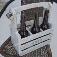 Переноска для пива на 6 бутылок.